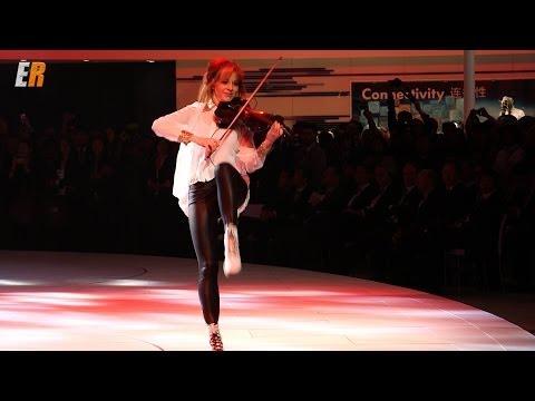 Lindsey Stirling - 2015 VW Golf  (Live Performance Beijing China)