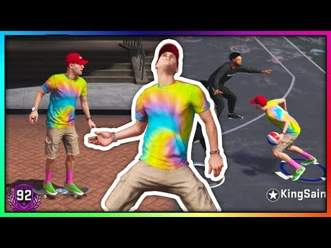 ROY PURDY MOVIN LIKE BERNIE IN NBA 2K18! INSANE ANKLE BREAKERS & DEEP THREES AT THE PARK!