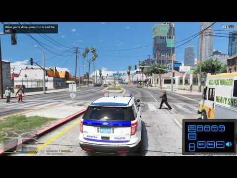 GTA LSPDFR BOSTON POLICE PATROL