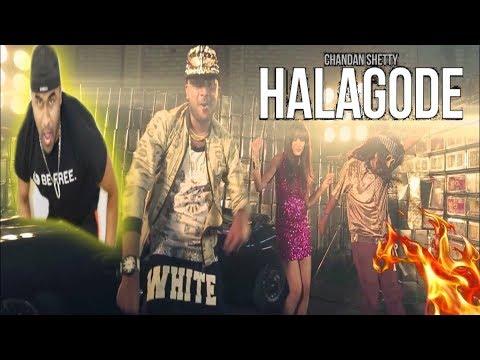 CHANDAN SHETTY - HA LA GO DE | Kannada Rapper | TELUGU REACTION TO KANNADA RAP