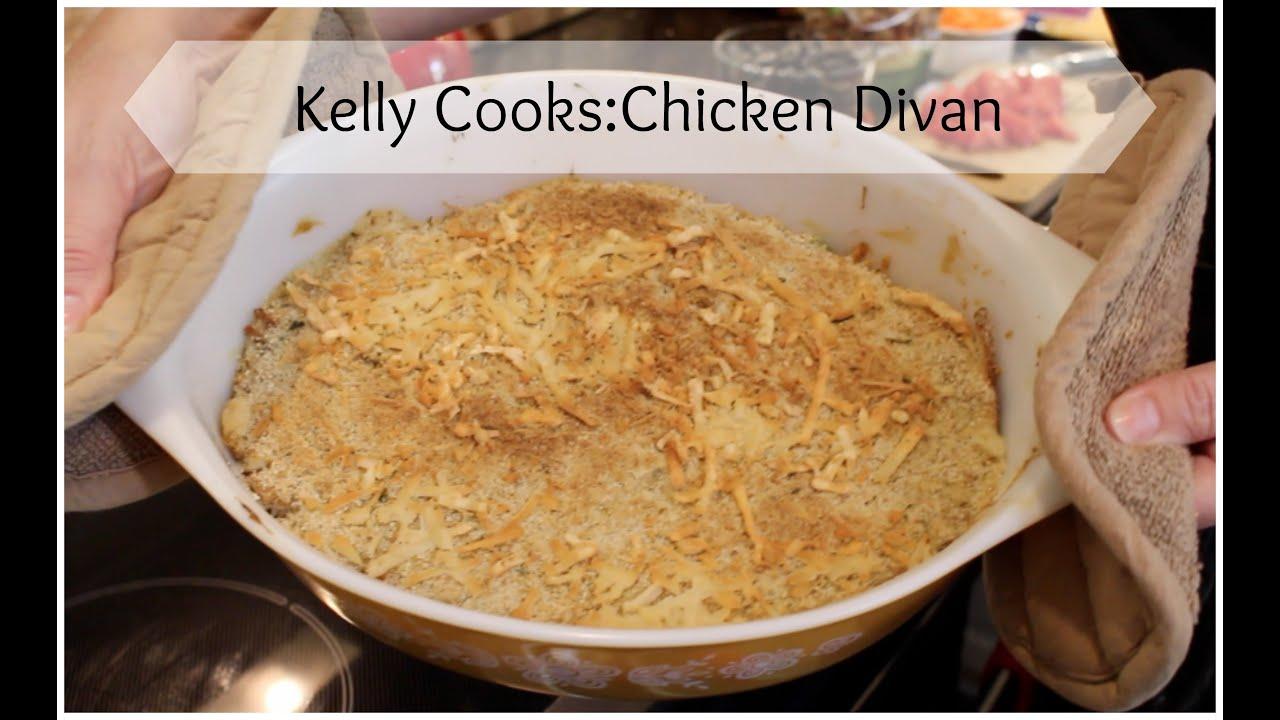 Kelly cooks yummy chicken divan youtube kelly cooks yummy chicken divan forumfinder Choice Image