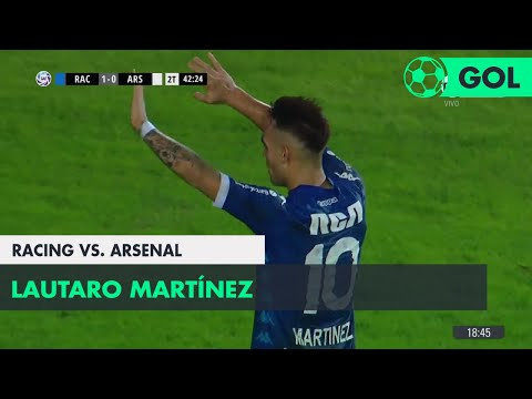 Lautaro Martínez (2-0) Racing vs Arsenal | Fecha 25 - Superliga Argentina 2017/2018