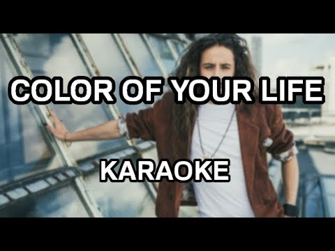 Michał Szpak - Color of your Life [karaoke/instrumental] - Polinstrumentalista