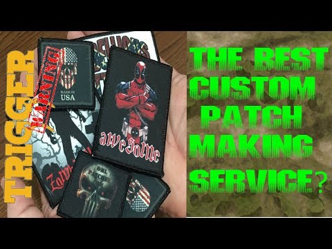 2 Drunk T.W.A.T.s Review: OML Custom Patch Service