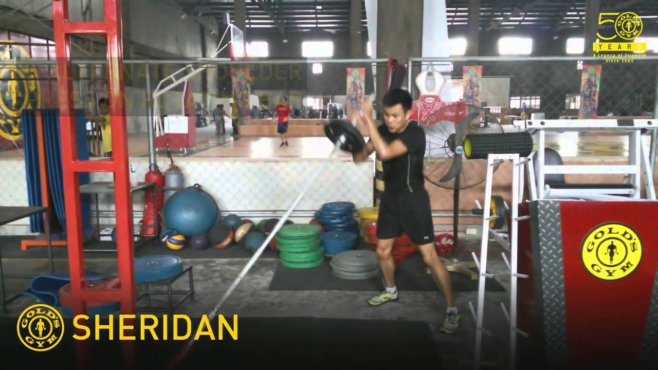 Gold's Gym Athletics - Workouts of the Week - YouTube