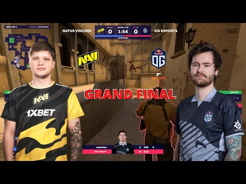 NaVi vs OG Esports - MIRAGE map 2 - GRAND FINAL - BLAST Premier Fall Series 2020 | CSGO