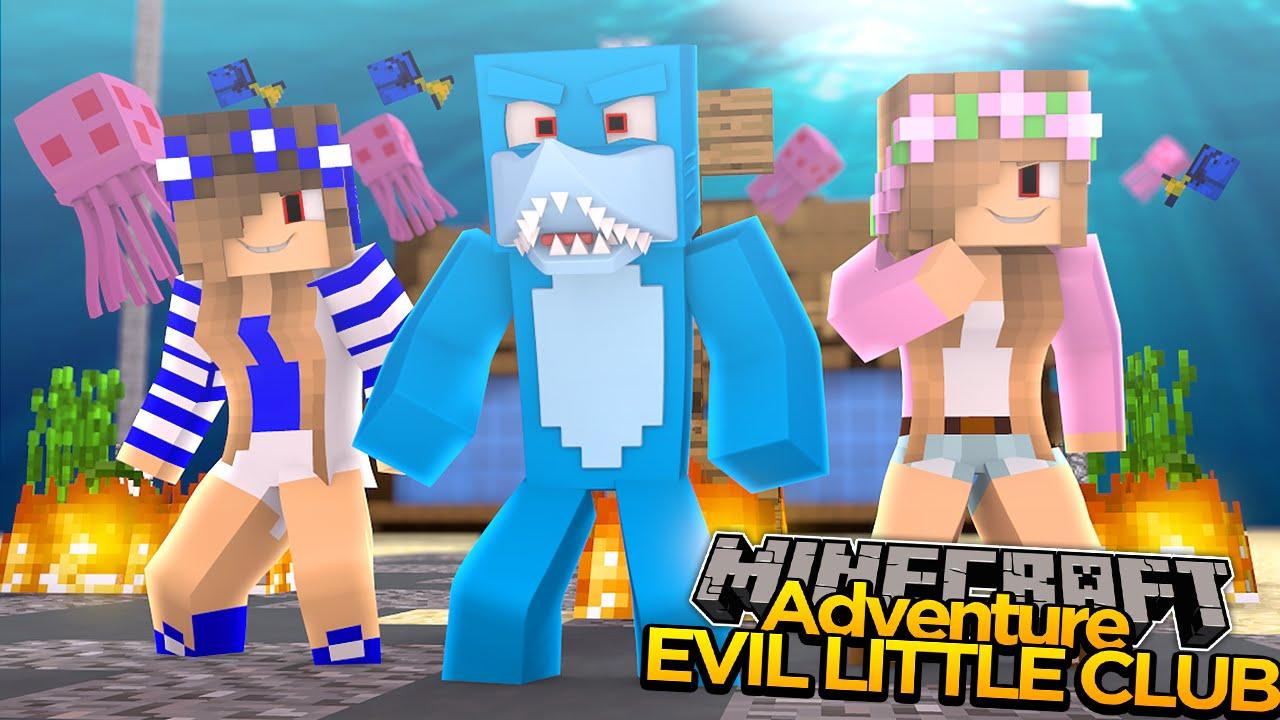 Minecraft evil little club sharky turns evil w little - The little club ...