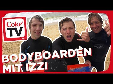 izzi beim Bodyboarding | #CokeTVMoment