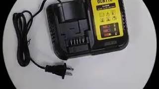 Фото 10 8 в 12 14 4 18 20 замена Dcb112 оригинальный электроинструмент зарядное устройство 2a зарядка для