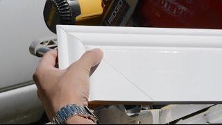 How to Cut Baseboard Returns - End Baseboard