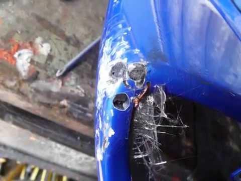 Como reparar carenado con fibra de vidrio youtube - Pasta de fibra de vidrio ...