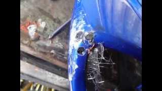 como reparar carenado con fibra de vidrio