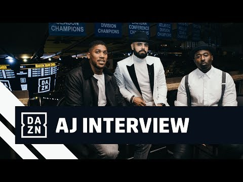 Anthony Joshua Talks About 2019 With DAZN