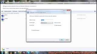 wie das erstellen von ad-hoc-Netzwerk in windows 7