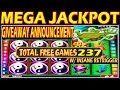 ★ MEGA JACKPOT HANDPAY ★ GIVEAWAY ANNOUNCEMENT ★ INSANE RETRIGGER ★HIGH LIMIT SLOT MACHINE ★