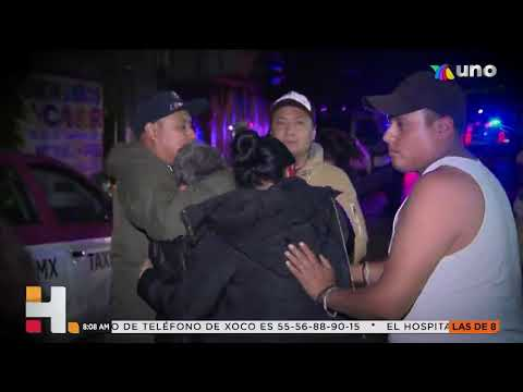 Víctimas Narran Desplome De Metro En La Ciudad De México