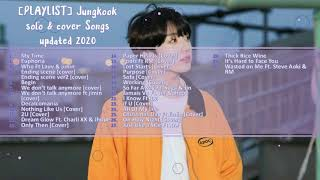 [PLAYLIST] Jungkook solo & cover Songs Updated 2020