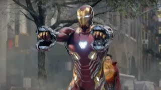AVENGER INFINITY WAR IRON MAN SUIT UP SCENE