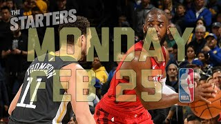 NBA Daily Show: Feb. 25 - The Starters