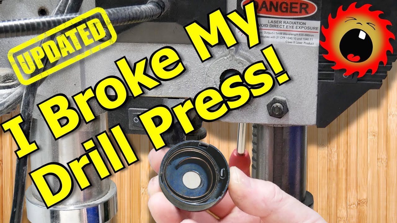 How to Replace a Broken Drill Press Return Spring (Quill Spring)