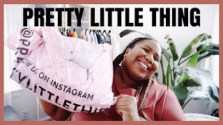 PRETTY LITTLE THING PLUS SIZE HAUL + TRY ON