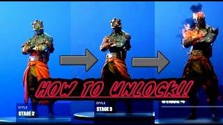 How to unlock prisoner stage 2,3&4 in Fortnite