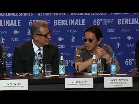 Isle Of Dogs - Berlinale 2017 - Pressekonferenz Teil 3