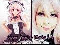 【ユリコ タイガー】SUPER SONICO Make-up for cosplay! すーぱーそに