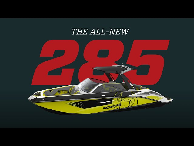 Scarab 285   World's Largest Recreational Jet Boat