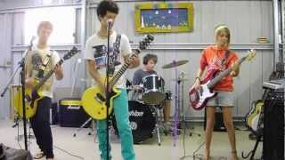 american idiot band cover