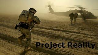 Project Reality v1.3 BF 2 Война в ираке. Игра командиром. Военный симулятор на ПК