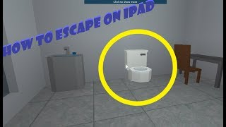 Roblox Apple ipad/tablet. Prison Life. How to escape through the toilet