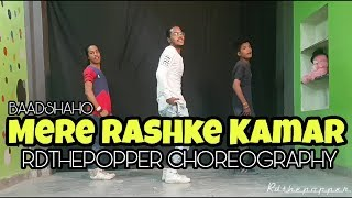 Mere Rashke Qamar | Dance Choreography | Baadshaho | Rdthepopper Choreography | D.Side Dance Studio