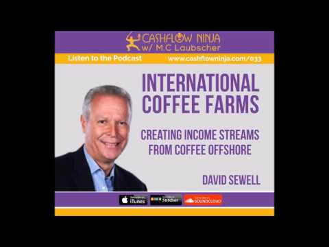 033: David Sewell: Create Income Streams From Offshore Sustainable Agriculture