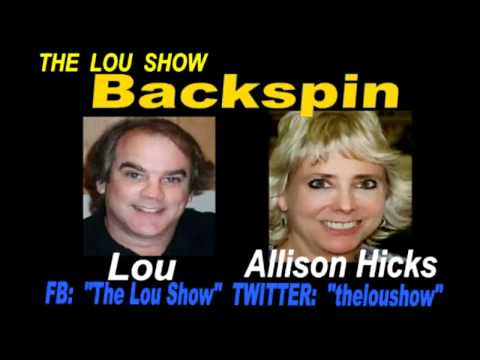 Alison A. Hicks on The Lou Show 2/5/12