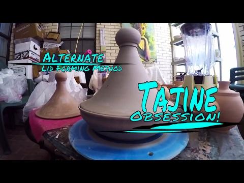 Tajine Challenge~Optional Method For Shaping Lid~  Throwing/Pottery/Wheel/Ceramic/Making/Clay