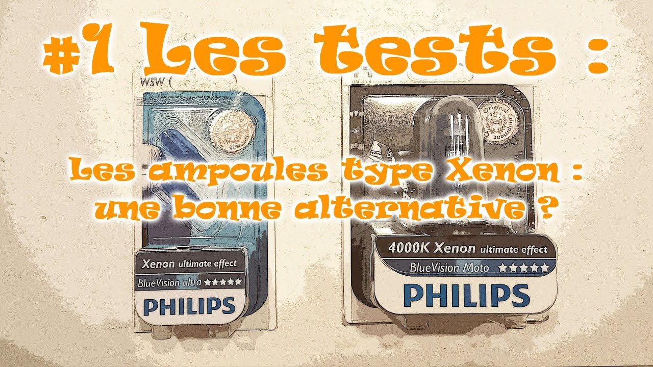 1 les tests les ampoules philips x non ultimate effect youtube. Black Bedroom Furniture Sets. Home Design Ideas
