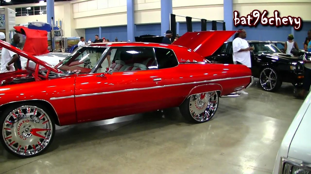 Candy Red 72 Impala Custom Donk On 26 Forgiatos Enzo W