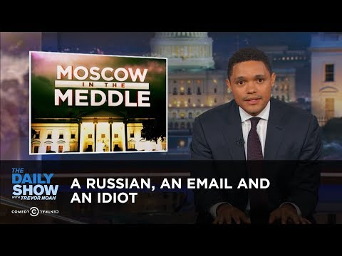 Thumbnail: A Russian, an Email and an Idiot: Did Donald Trump Jr. Incriminate Himself?: The Daily Show