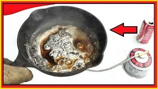 COKE vs Molten LEAD - Beautiful Surprise!