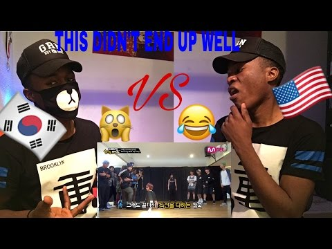 KPOP BTS Vs AMERICAN DANCERS Reaction