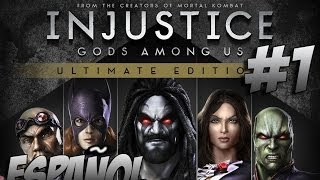 Injustice: Gods Among Us Ultimate Edition - Modo Historia - Capítulo 1 - Gameplay PC/PS4 - Español
