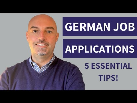 German Job Applications: 5 Essential Tips For Success