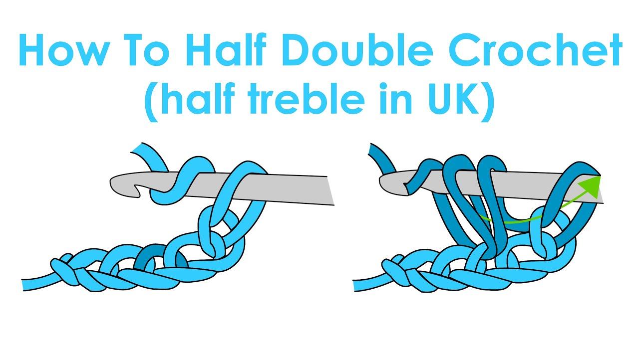 How to half double crochet half treble in uk crochet lesson 4 how to half double crochet half treble in uk crochet lesson 4 ccuart Image collections