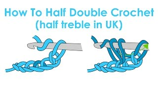 How to Half Double Crochet (Half Treble in UK)