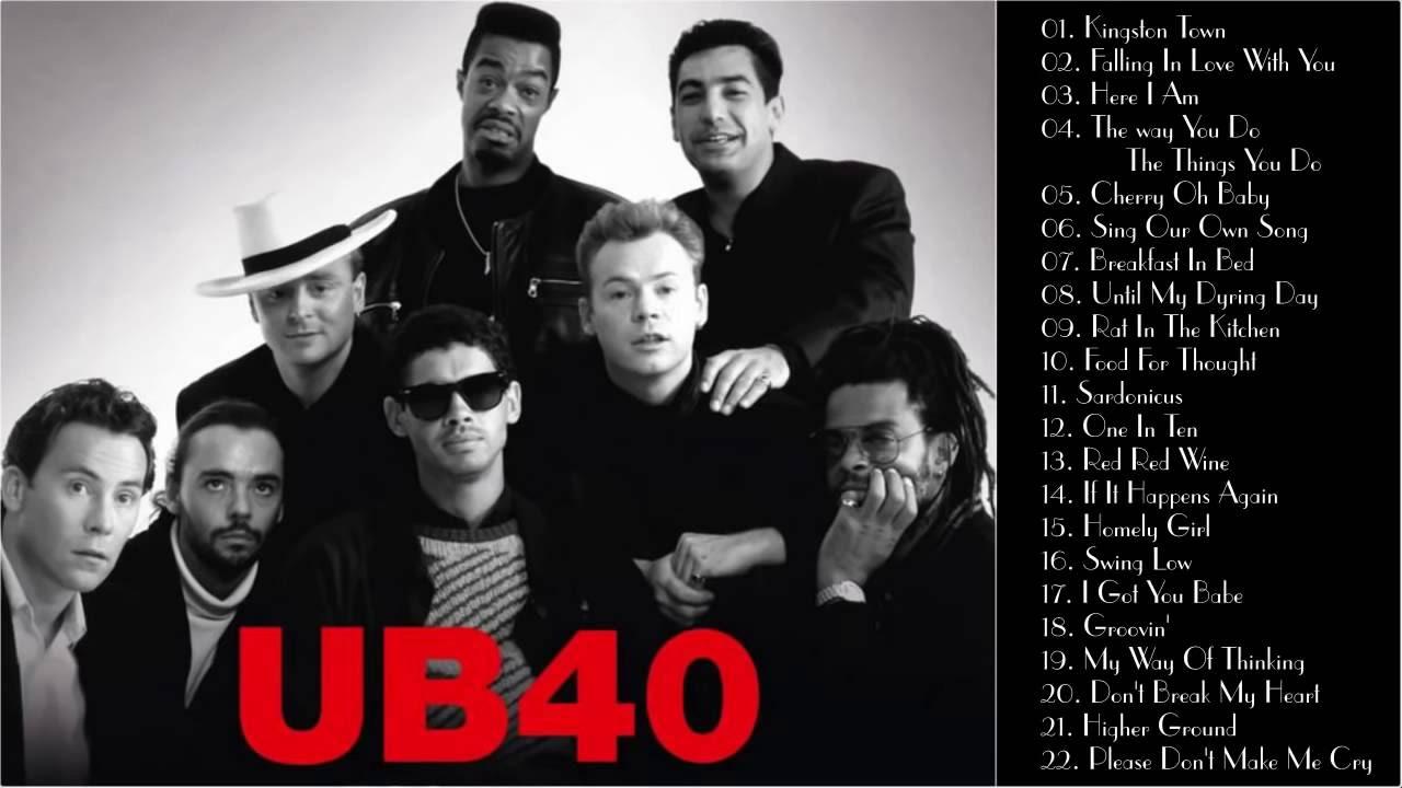 Best Songs Of Ub40 Full Album Ub40 S Greatest Hits Youtube