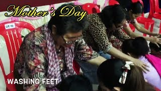 Mother's Day 2018 ( Washing Feet )