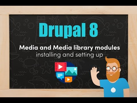 The Media and media library modules from Drupal 8.7 core thumbnail