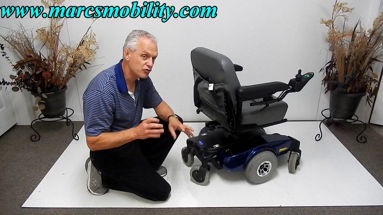 Invacare Pronto M51 Used Wheel Chair - Mid Wheel Drive