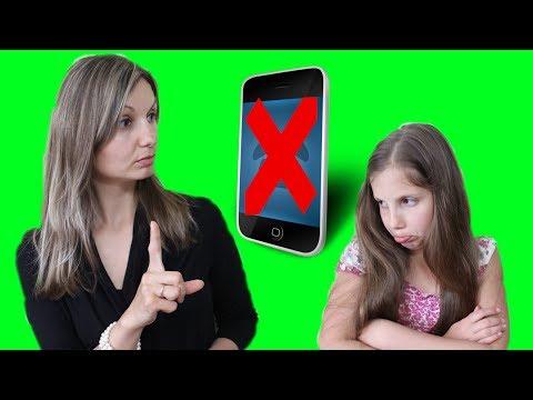 Как сделать так чтобы мама отдала телефон